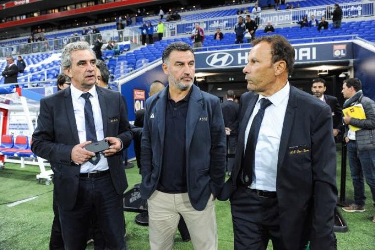 Dominique Rocheteau, Christophe Galtier et Roland Romeyer