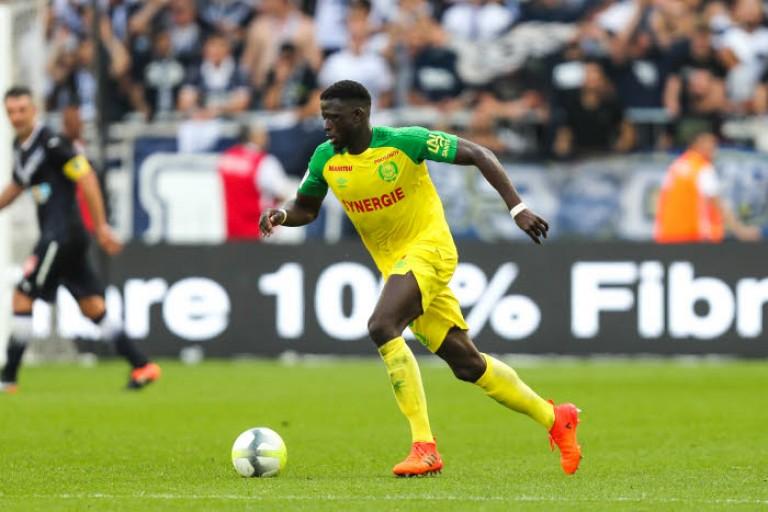 Abdoulaye Touré, milieu de terrain du FC Nantes.