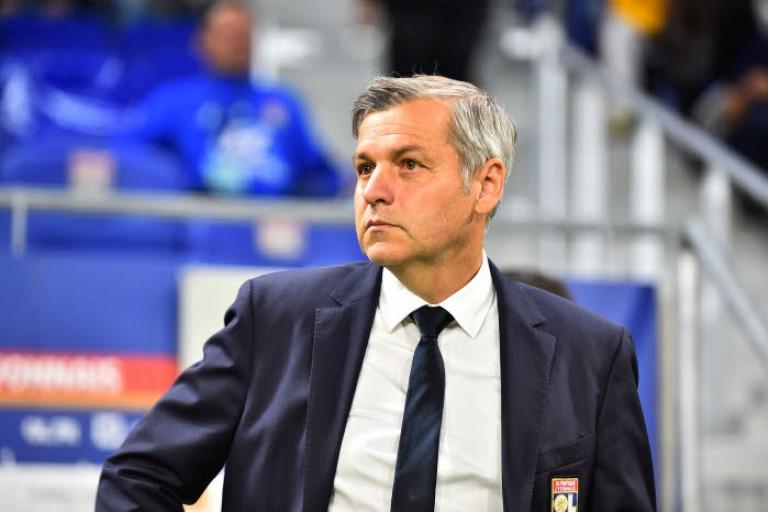 Bruno Genesio, coach de l'OL.