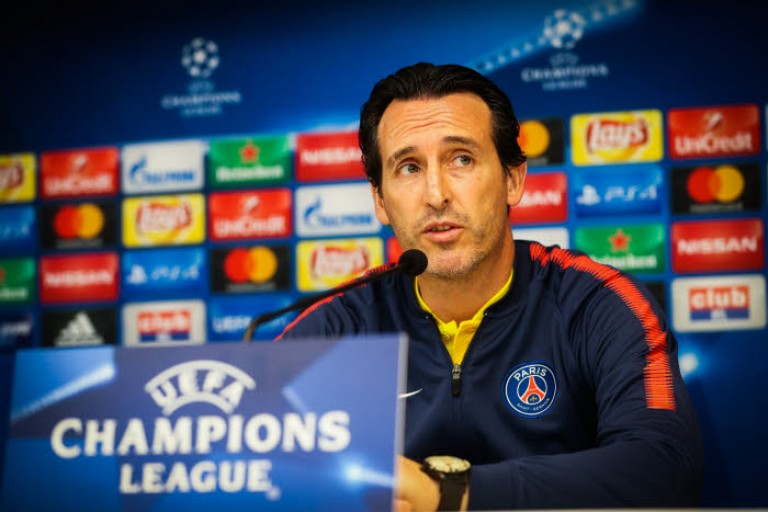 Emery veut arriver fort face au Real Madrid.