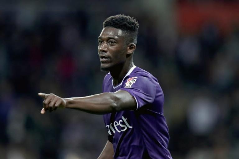 Yaya Sanogo, attaquant au Toulouse FC.