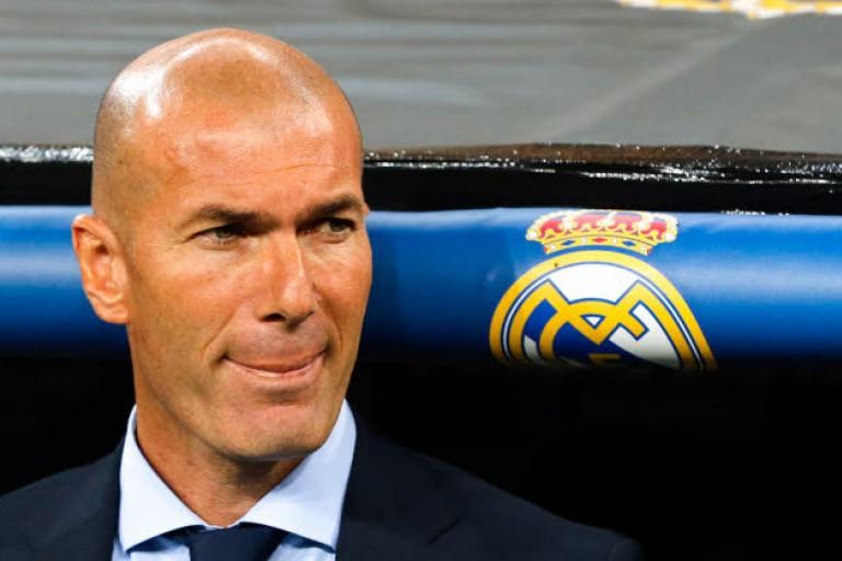 Zinedine Zidane le coach du Real Madrid