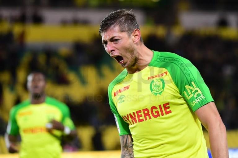 Emiliano Sala, attaquant du FC Nantes.