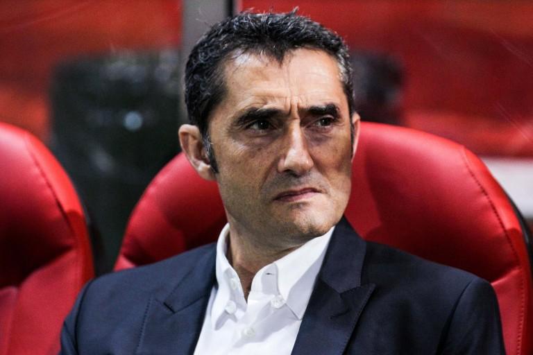 Ernesto Valverde en difficulté sur le banc du Barça.