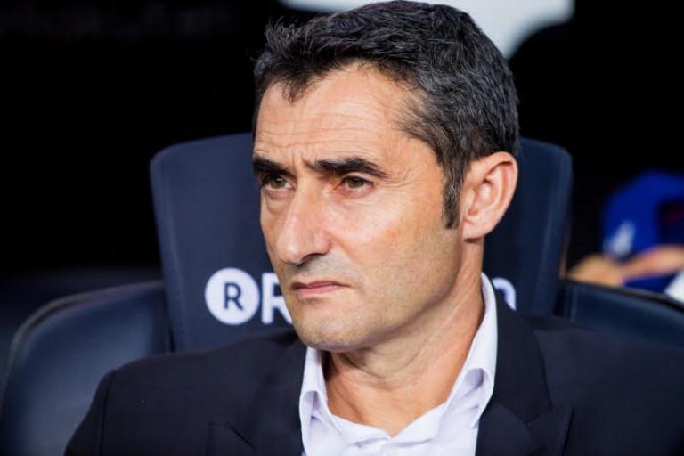 Ernesto Valverde souligne le travail de ses joueurs.