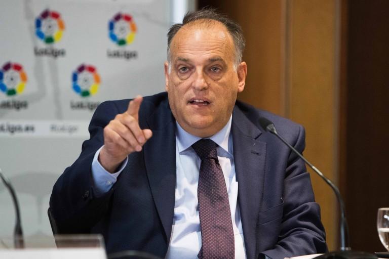 Javier Tebas ne voit pas un antimadridisme en hausse.
