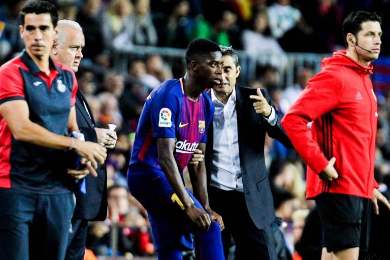 Dembélé titulaire avec le Barça contre Chelsea ?