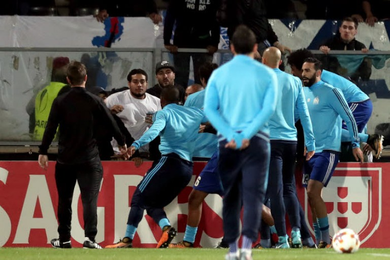 Patrice Evra a filé un beau conseil à Rami par son high kick