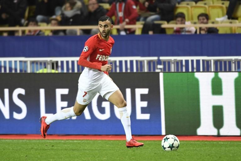 Rachid Ghezzal, milieu offensif recruté à l'AS Monaco par Leicester.
