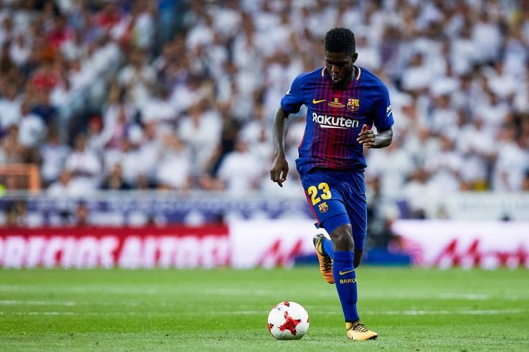 Samuel Umtiti a repris l'entrainement.