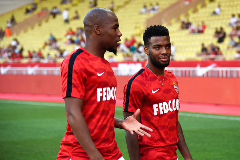 Thomas Lemar et Djibril Sidibé pourraient faire l'objet de transfert de l'AS Monaco cet été.