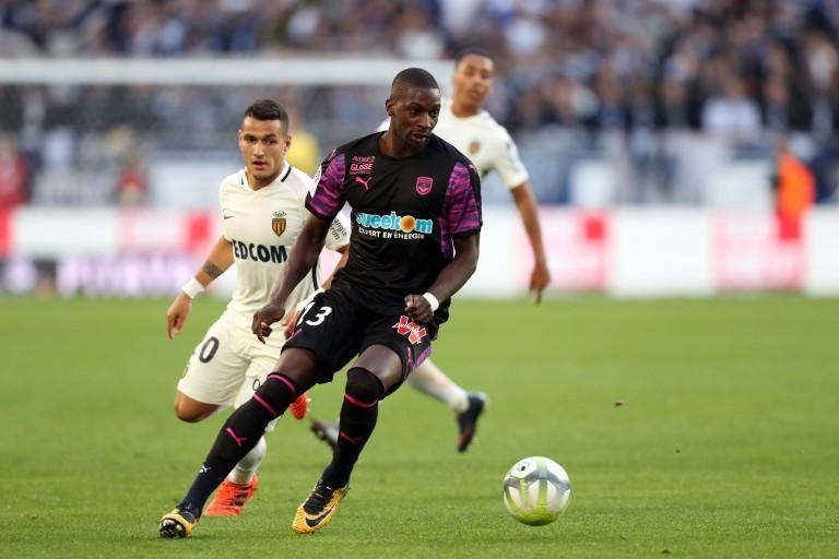 Younousse Sankharé, milieu de terrain au FC Girondins de Bordeaux.