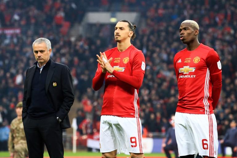 Man Utd : Pogba et Zlatan, les hommes forts de José Mourinho