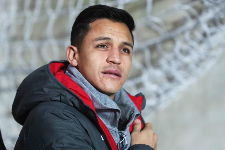 Alexis Sanchez, attaquant de Manchester United.