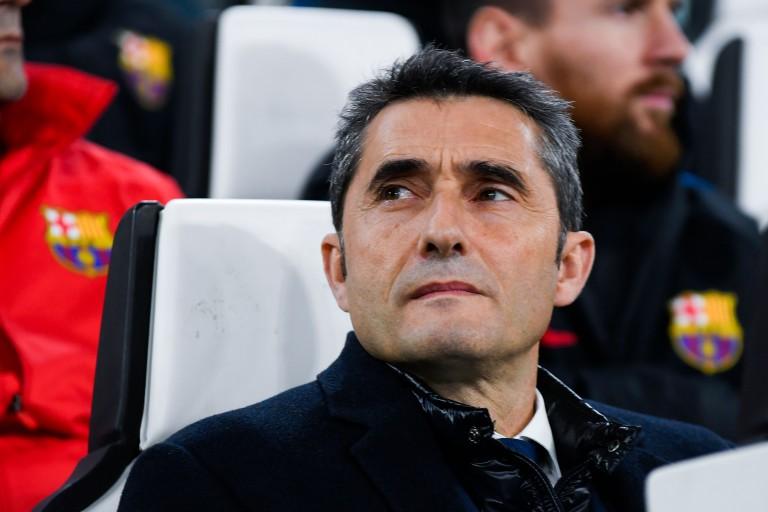Ernesto valverde, entraineur du FC Barcelone.