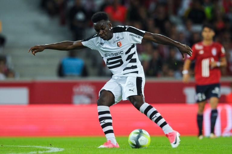 Faitout Maouassa, défenseur du Stade Rennais