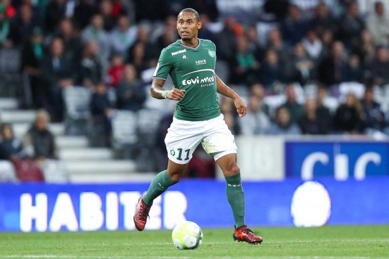 Gabriel Silva, défenseur brésilien de l'ASSE.