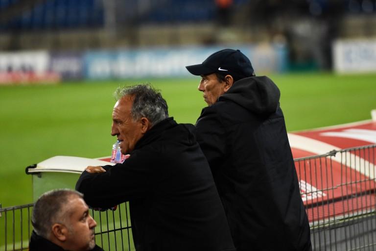 Ghislain Printant et Jean-Louis Gasset, le duo de coachs de l'ASSE