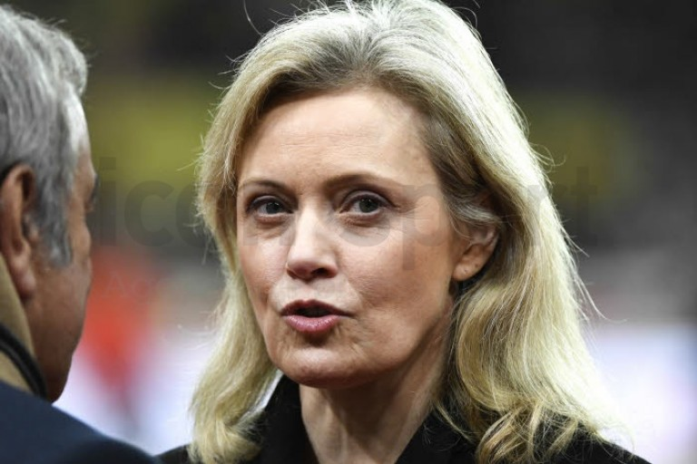 Nathalie Boy de la Tour, présidente de la Ligue de Football Professionnel.