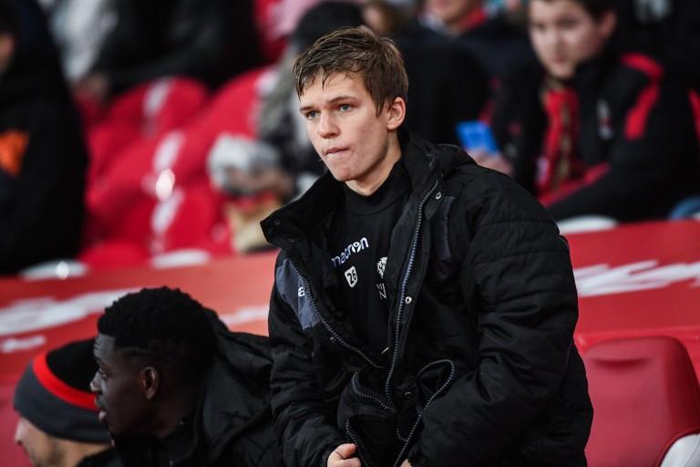 Vincent Koziello, milieu de terrain du FC Cologne
