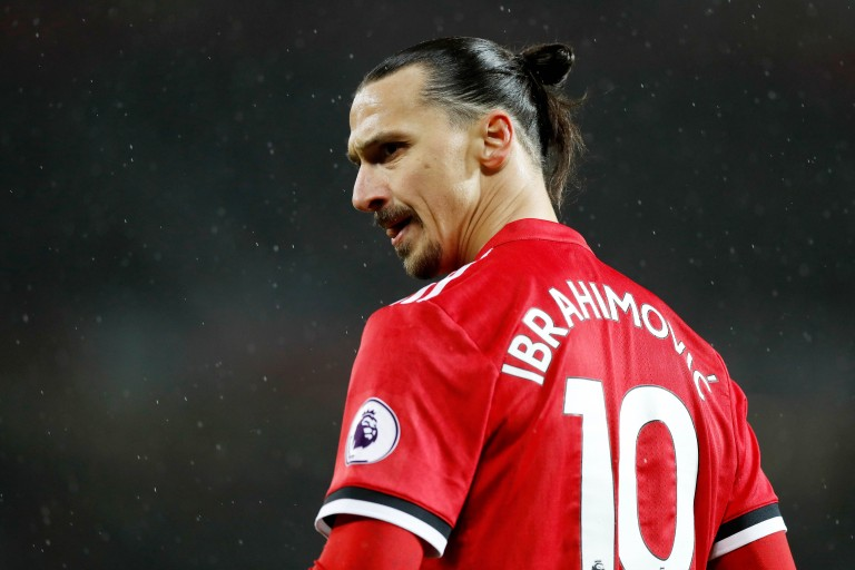 Zlatan Ibrahimovic, attaquant recruté par Los Angeles Galaxy