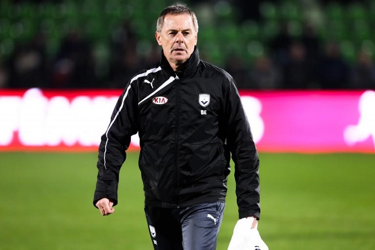Éric Bedouet, entraîneur des Girondins de Bordeaux,