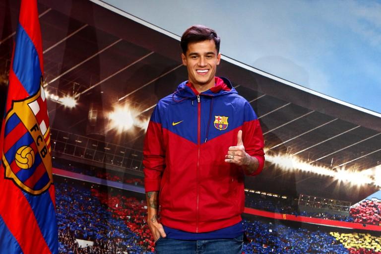 Philippe Coutinho a signé officiellement au FC Barcelone.