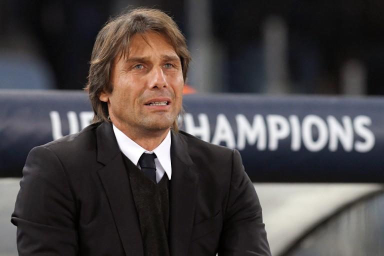 Antonio Conte, entraîneur italien de Chelsea.