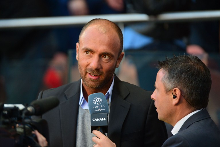 Christophe Dugarry, consultant sportif à RMC .