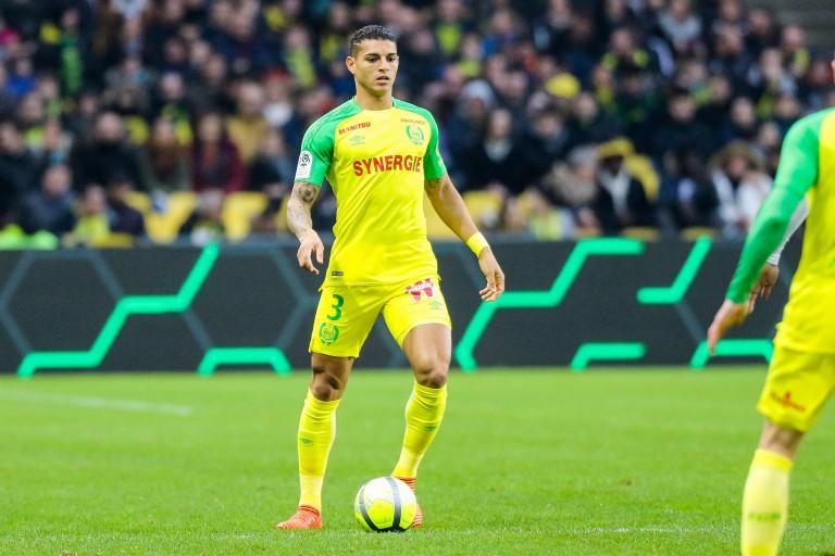 Diego Carlos, defenseurr central brésilien du FC Nantes