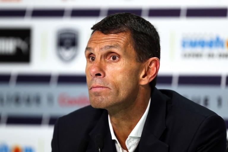 Gustavo Poyet, entraineur des Girondins de Bordeaux
