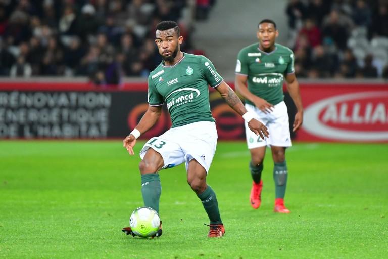 Habib Maïga, milieu de terrain de l'ASSE prêté au FC Metz.