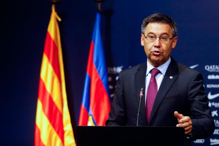Josep Maria Bartomeu, président du Barça.