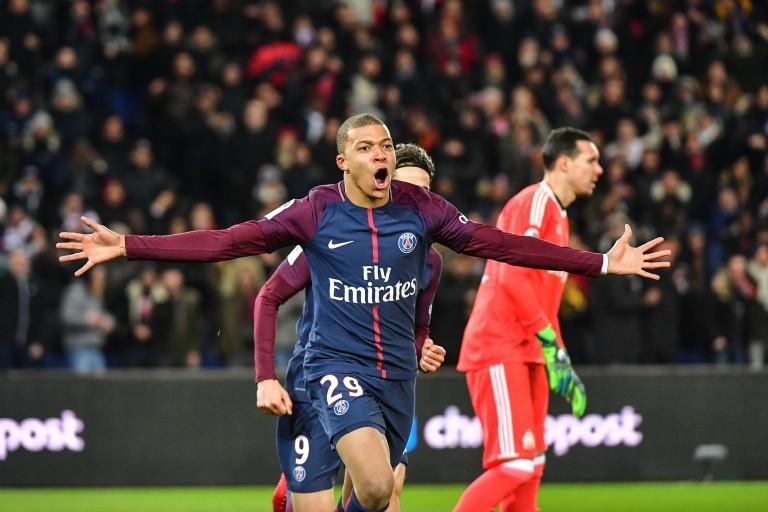 Kylian Mbappé, attaquant français du PSG.