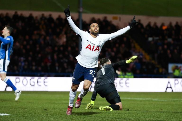 Lucas Moura a ouvert son compteur avec Tottenham.