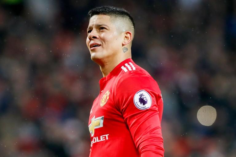 Marcos Rojo est en difficulté  à Manchester United