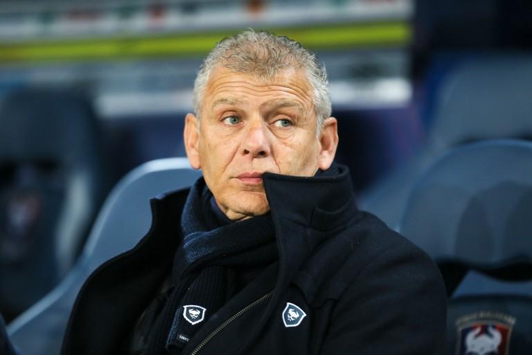Patrice Garande, ex-entraineur du SM Caen.