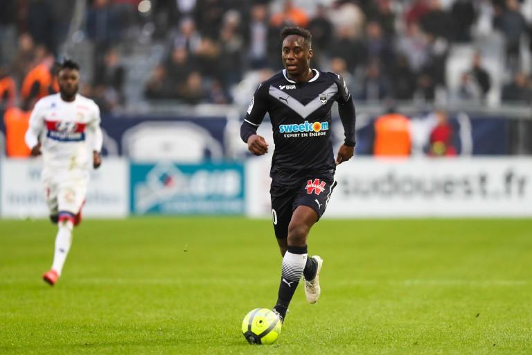 Soualiho Meïté, milieu défensif de l'AS Monaco prêté à Bordeaux en janvier 2018.