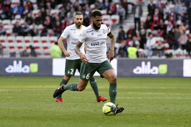 Yann M'Vila, milieu défensif de l'ASSE.