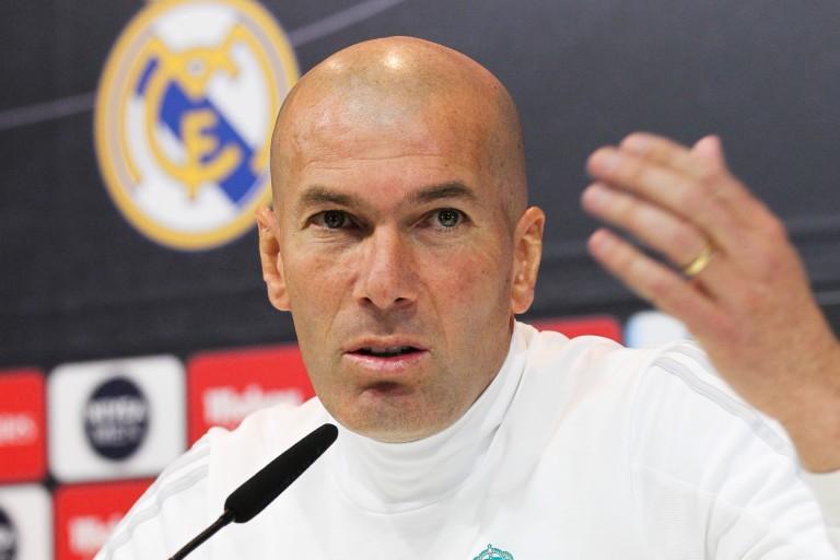 Zinedine Zidane part du Real Madrid la tête haute.
