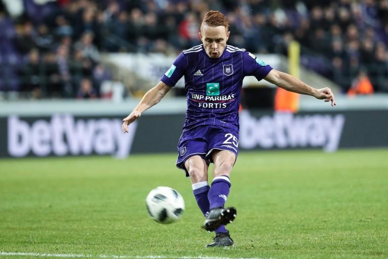 Adrien Trebel, milieu de terrain d'Anderlecht.