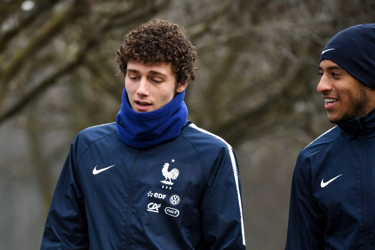Benjamin Pavard, défenseur latéral droit de l'Equipe de France.