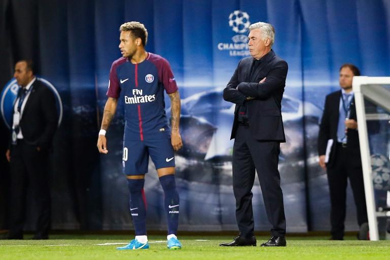Carlo Ancelotti évoque le manque d'expérience du PSG