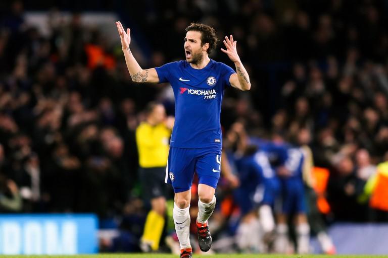Cesc Fabregas, milieu de terrain de Chelsea FC.