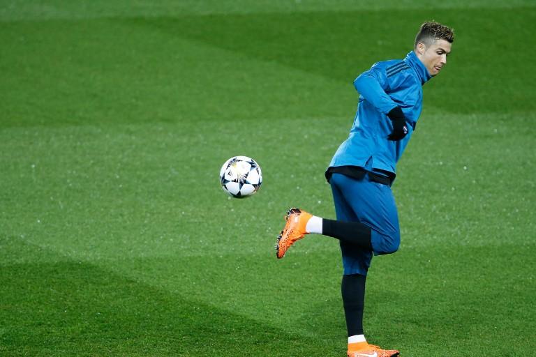 Cristiano Ronaldo, attaquant portugais du Real Madrid.