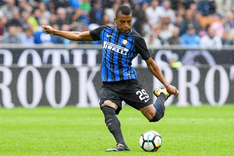 Henrique Dalbert, arrive latéral gauche de l'Inter Milan.
