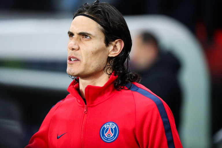 Edinson Cavani, attaquant du SSC Naples.