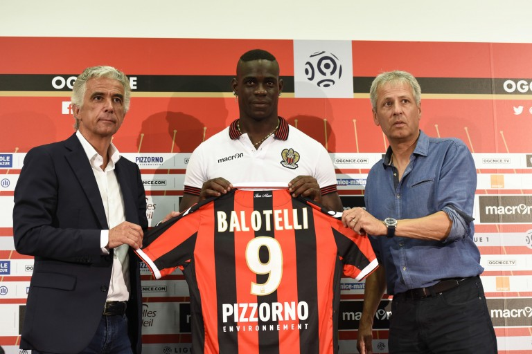 Mario Balotelli encore à l'OGC Nice cette saison