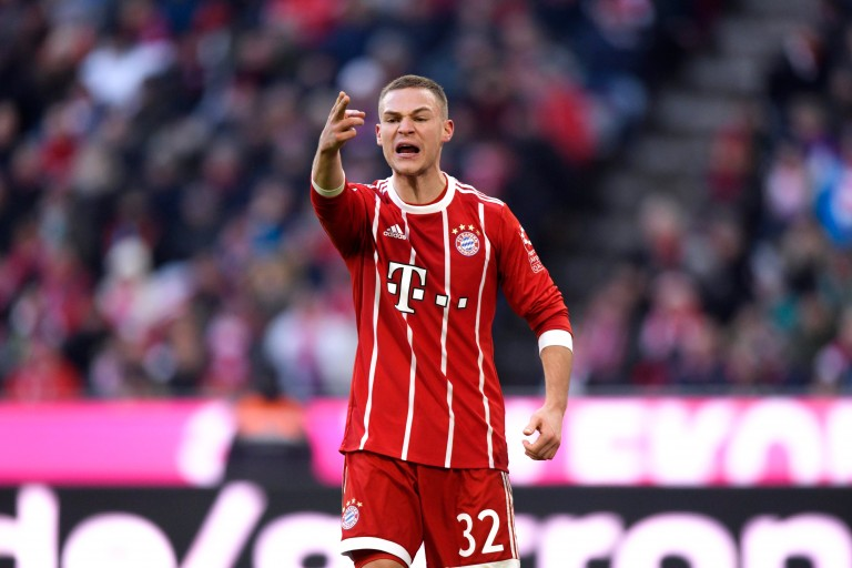Joshua Kimmich a marqué l'unique but du Bayern Munich, son 3e en Bundesliga