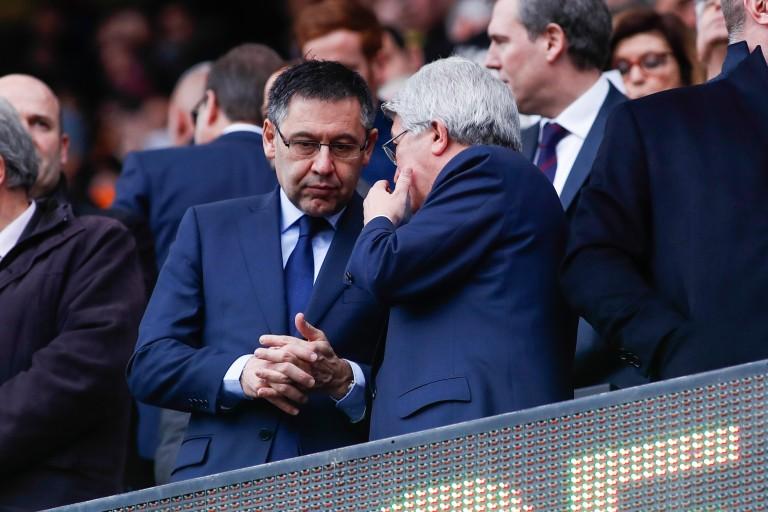 6 responsables du Barça présentent leur démission au président Josep Maria Bartomeu